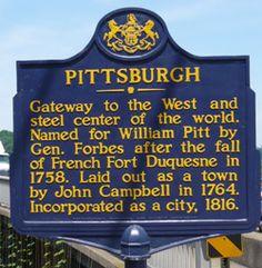 PittsburghHistoricalMarker